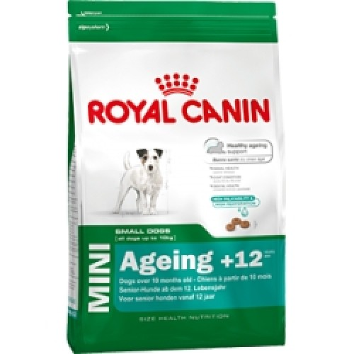 Корм для собак Royal Canin Mini Ageing + 12   800гр/1