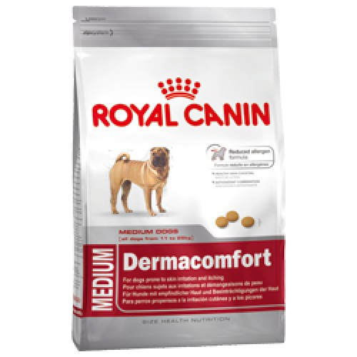 Корм для собак Royal Canin Medium Dermacomfort 10кг