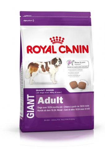 Корм для собак Royal Canin Giant Adult 4кг/15кг