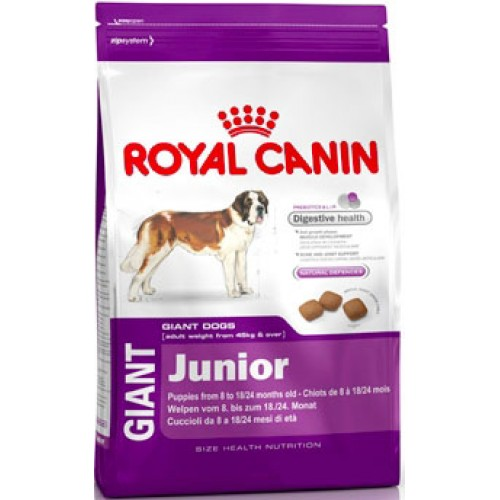 Корм для собак Royal Canin Giant Junior 4кг/15кг