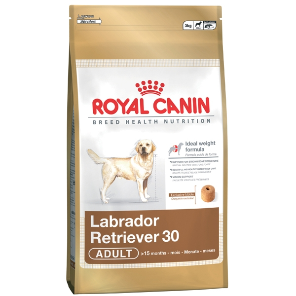Корм для собак Royal Canin Labrador 3кг/12к