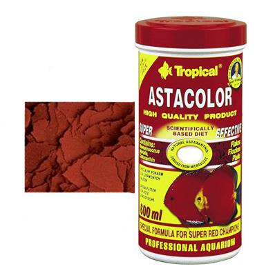 Корм для дискусов и др. рыб Tropical Astacolor 500 ml