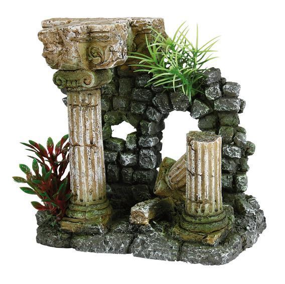 """Декорация в аквариум  """"Римские колонны"""""""