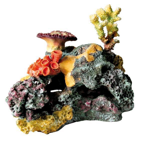 """Декорация в аквариум """"Коралловый риф"""" 32см."""