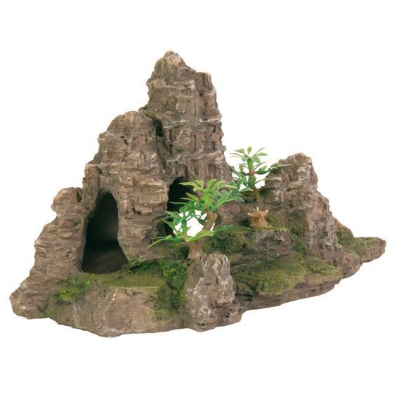 """Декорация в аквариум и террариум  """"Гора с пещерой"""" 22*10"""