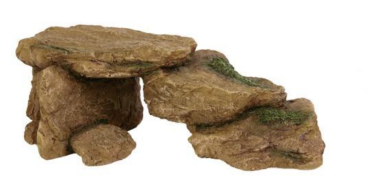 """Декорация в аквариум и террариум-""""Камни для рептилий"""" 15"""