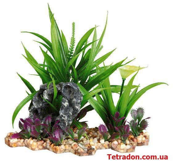 Растение в аквариум 18см