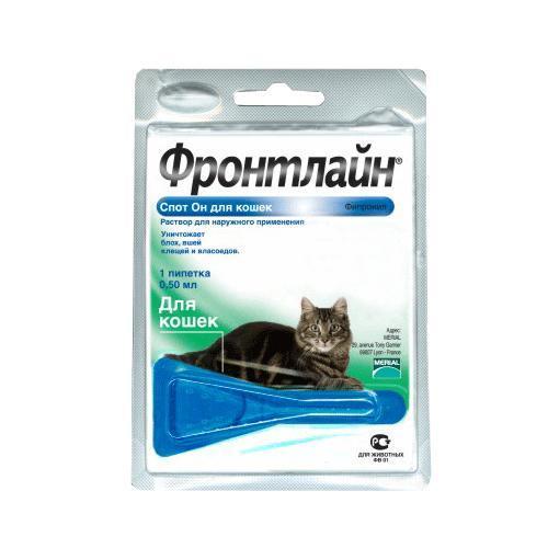ФРОНТЛАЙН Спот - он д/кота МОНО ПИПЕТКА