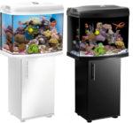 Морской аквариум Aquael Reef Master 60 черный ( 105л )