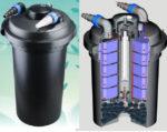 Фильтр прудовый SunSun CPF-500 UV-C