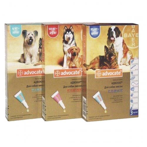 АДВОКАТ(Advocate) для собак больше 25 кг