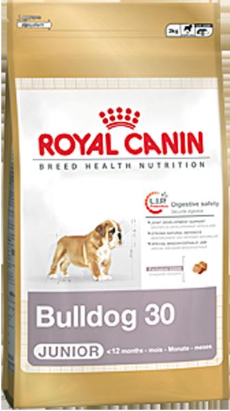 Корм для собак Royal Canin Bulldog  Junior 12 кг