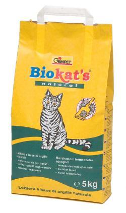 Gimpet Biokat's Natural - наполнитель для кошачьего туалета 5 кг