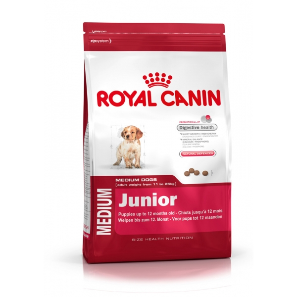 Корм для собак Royal Canin Medium Junior 15кг