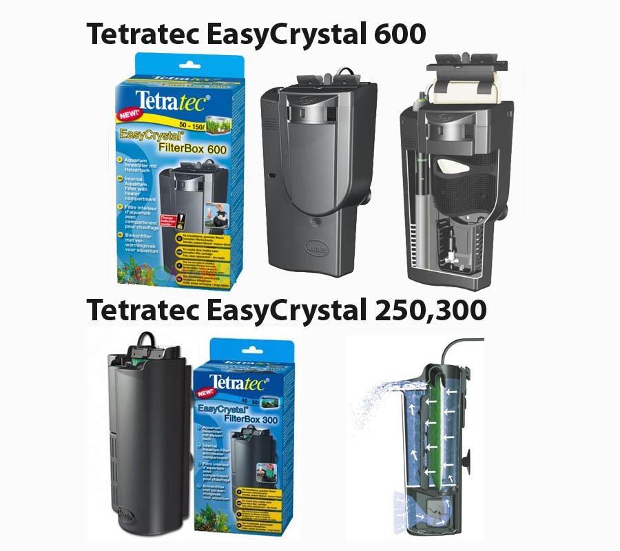 Внутренний фильтр Tetratec EasyCrystal 250