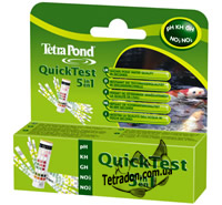 Тест TetraPond QuickTest 6 in 1.