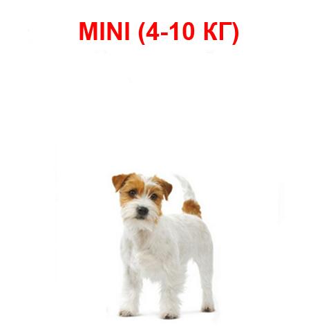 Корм для собак мелких пород от 1до 10 кг