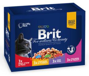 Brit Premium Ассорти Семейная тарелка 4 вкуса