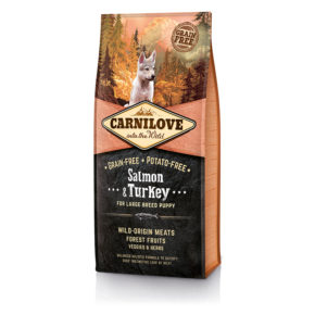 Carnilove Puppy Large Salmon & Turkey