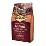 Carnilove Cat Adult Large Duck & Turkey