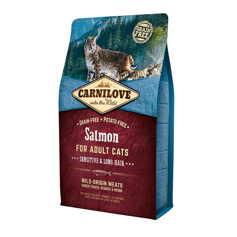 Carnilove Cat Salmon Sensitive & LongHair