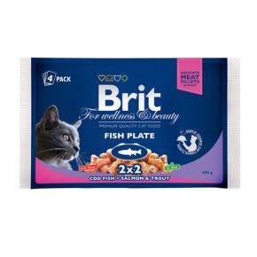 Brit Premium Ассорти Рыбная тарелка
