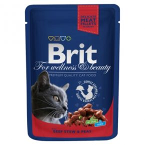 Brit Premium Рагу из говядины с горошком