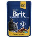 Brit Premium Курица и индейка