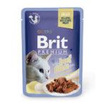 Brit Premium Кусочки из филе говядины в желе