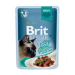 Brit Premium Кусочки из филе говядины в соусе