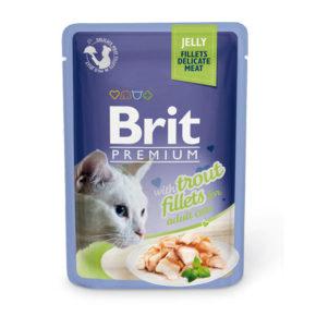 Brit Premium филе форели в желе