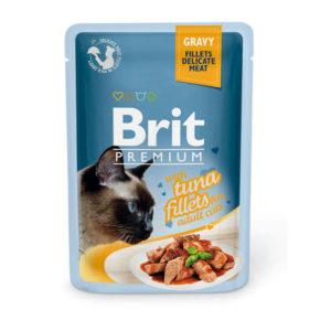 Brit Premium филе тунца в соусе