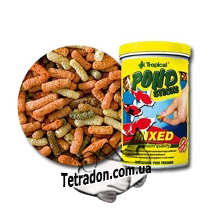 Tropical Pond STICKS Mixed 50L/4кг