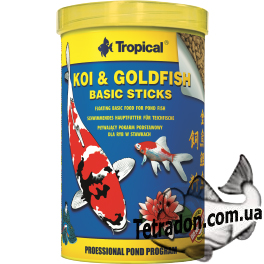Tropical KOI & Gold Basic STICKS 1L/5L/10L/11L/21L/50L