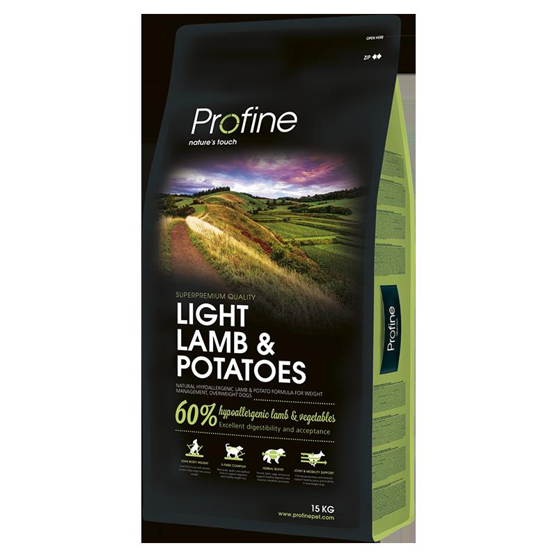 LIGHT LAMB & POTATOES