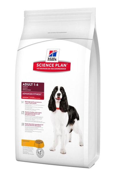 Hills Science Plan Canine Adult Advanced Fitness Medium
