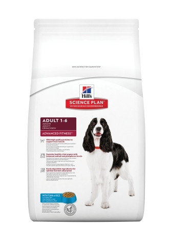 Hills SP Canine Adult Advanced Fitness with Tuna & Rice
