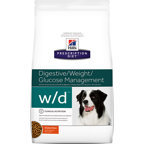 Hills Prescription Diet Canine w/d