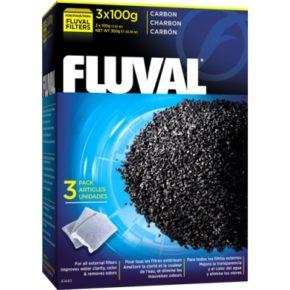 Вкладыш в фильтр Активированный уголь Fluval, 3 шт., 3х100 г HAGEN