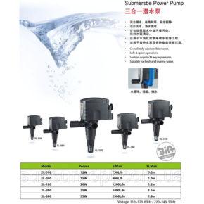 Помпа(Голова) Xilong XL-008-380 от 750 до 2500л/ч