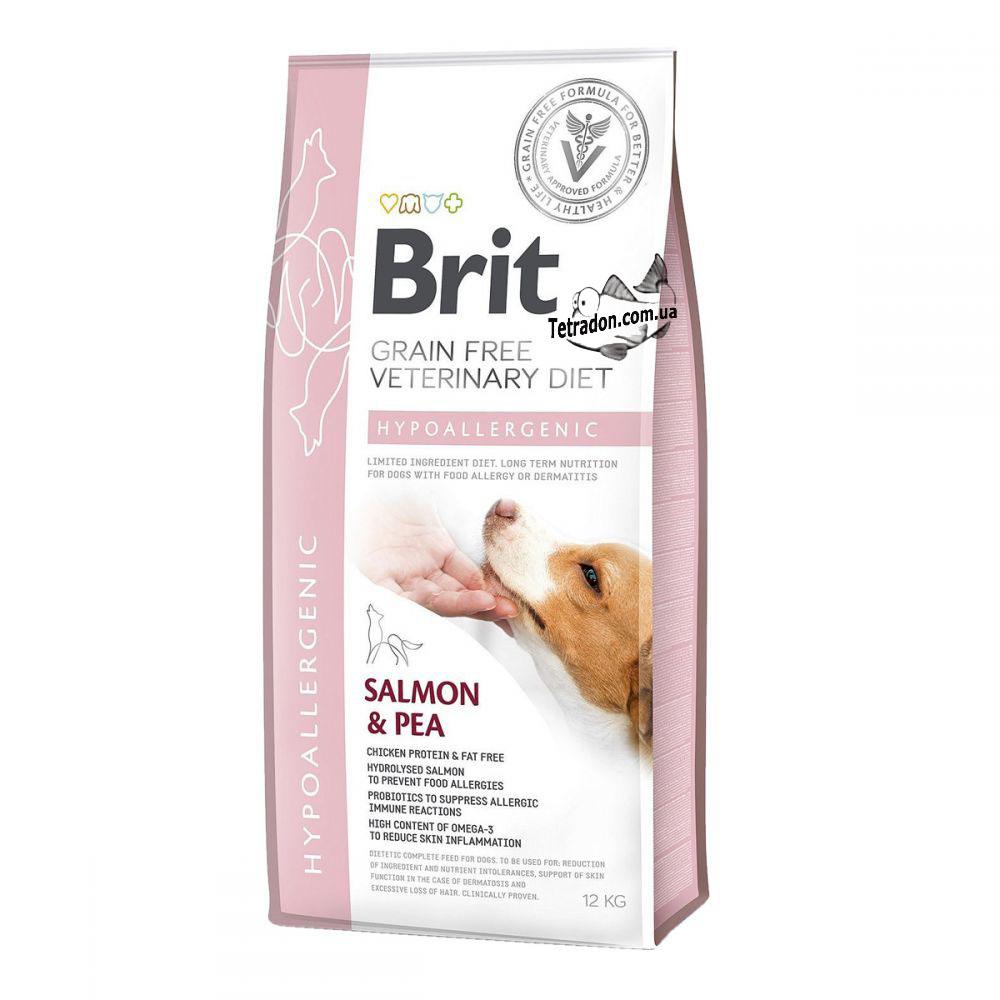 Корм для собак Brit Care Hypoallergenic